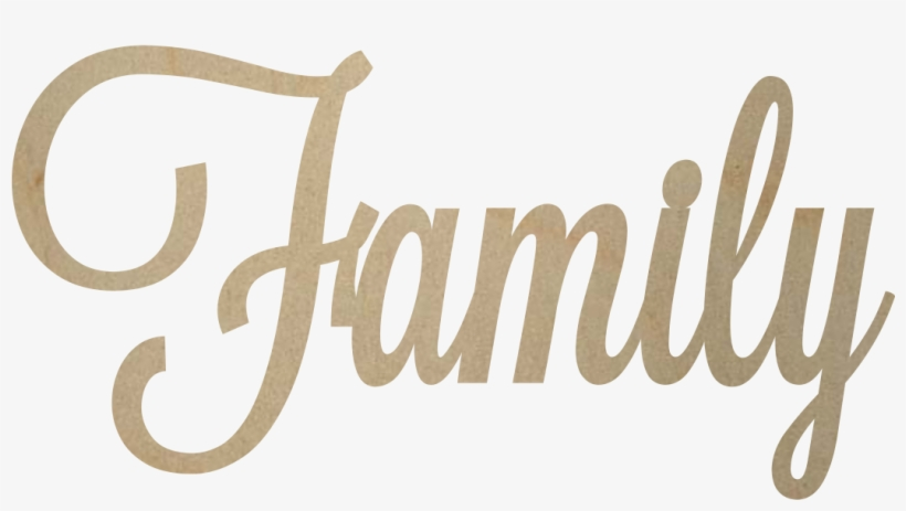Graphic Royalty Free Download Transparent Family Calligraphy Love