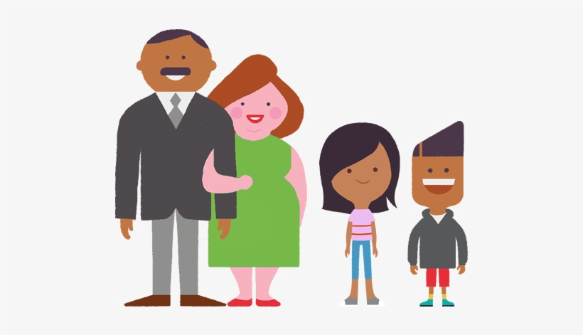 Create A Family Agreement Padres De Familia Animados Png
