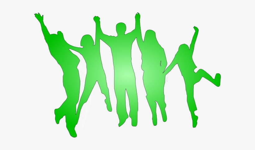 Family Clipart 5 People Green People Clip Art 600x401 Png