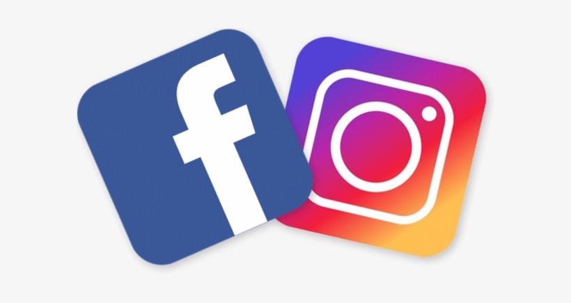 Facebook And Instagram Logo Png - Facebook Instagram Logo Png - 586x347 PNG  Download - PNGkit