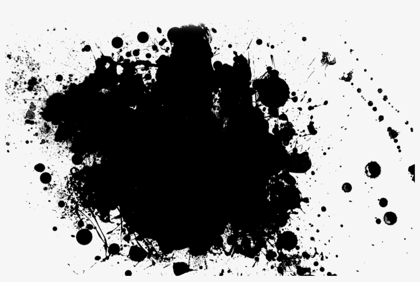 black paint png splatter transparent pictures free - black paint splash png