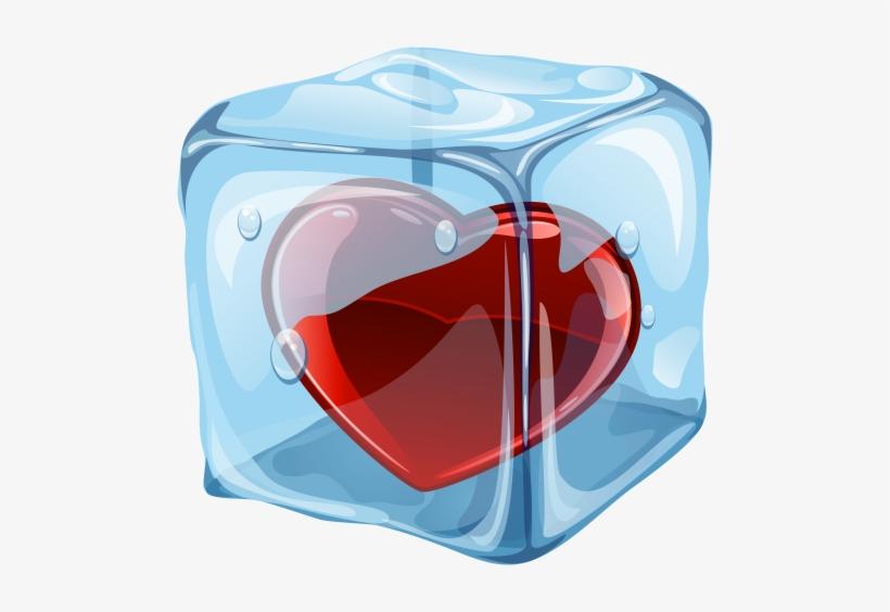 Ice Heart Clip Art