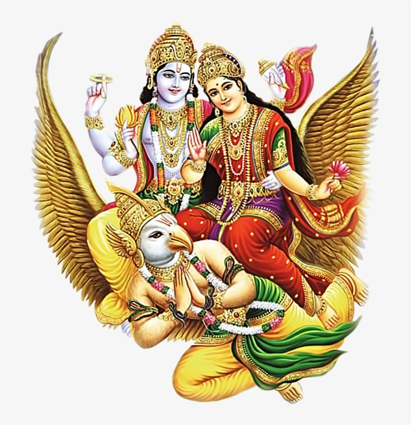 Hindu God Vishnu Bhagwan Png Images Free Downloads Laxmi Narayan