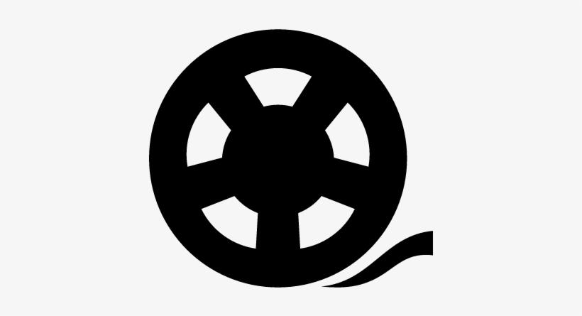 Cinema Reel Vector Icono Carrete 400x400 Png Download Pngkit