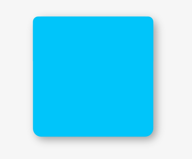 Blue Square Rounded Corners Clip Art At Clker