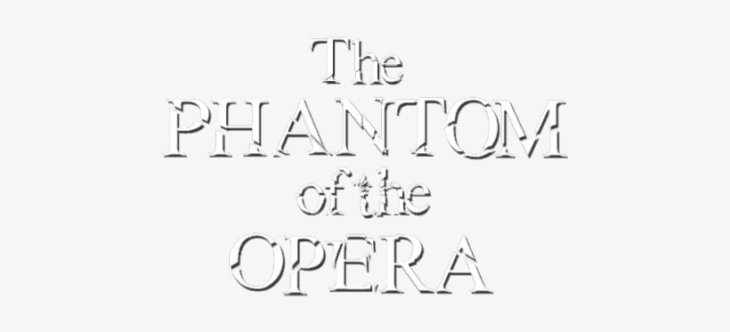 Phantom Of The Opera Font Dafont - Calligraphy - 800x310 PNG