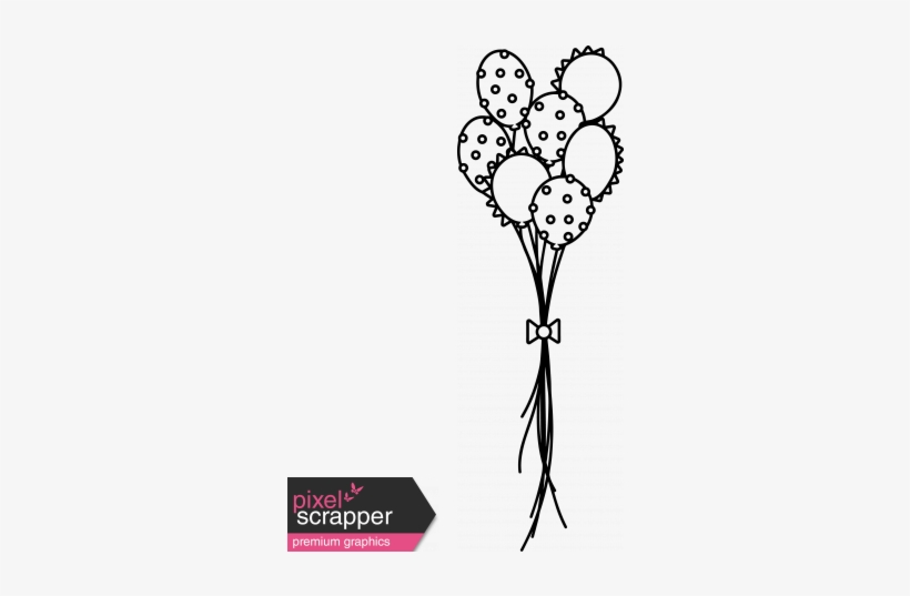 Clipart Library Stock The Good Life Stamps Balloons