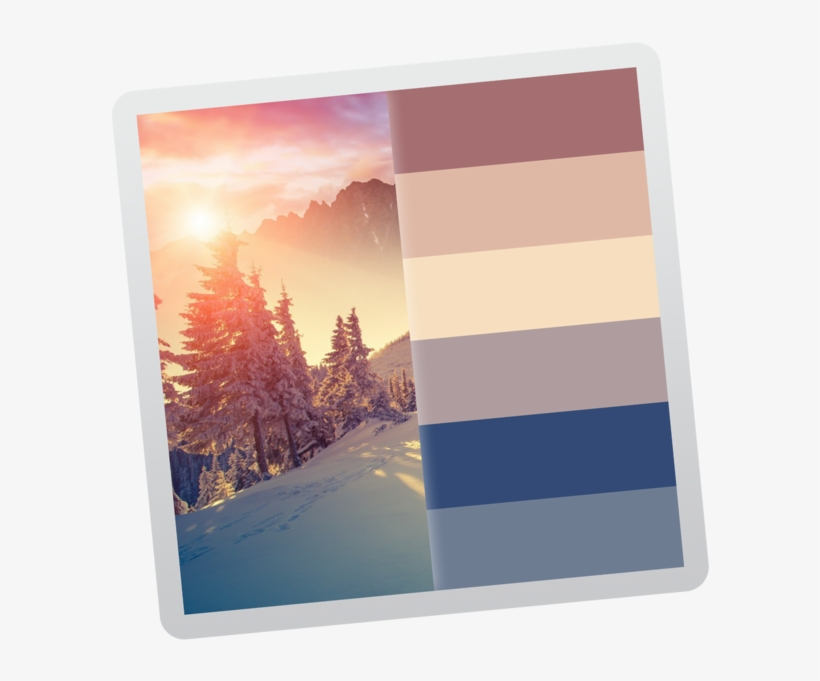 Color Palette From Image 4 Iphone X Wallpaper 4k Winter 630x630 Png Download Pngkit
