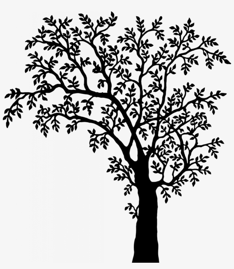photo about Printable Tree Stencil identified as Rare Tree Stencils Free of charge Printable How Toward Attract A 16