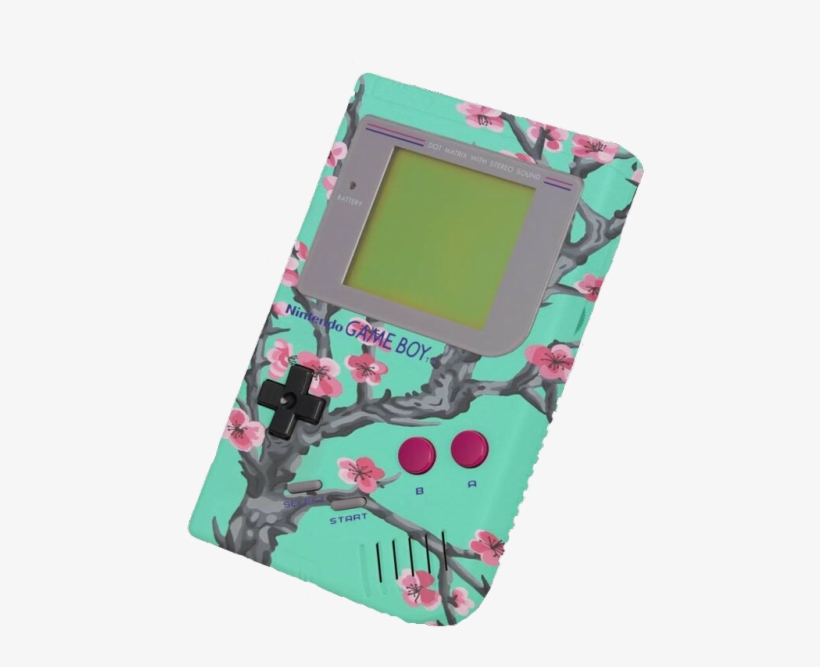 45a0478e207e0 Vaporwave Aesthetic Game Boy - 500x607 PNG Download - PNGkit