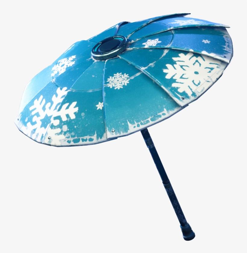 fortnite snowflake png image fortnite season 2 umbrella transparent png - fortnite parasol