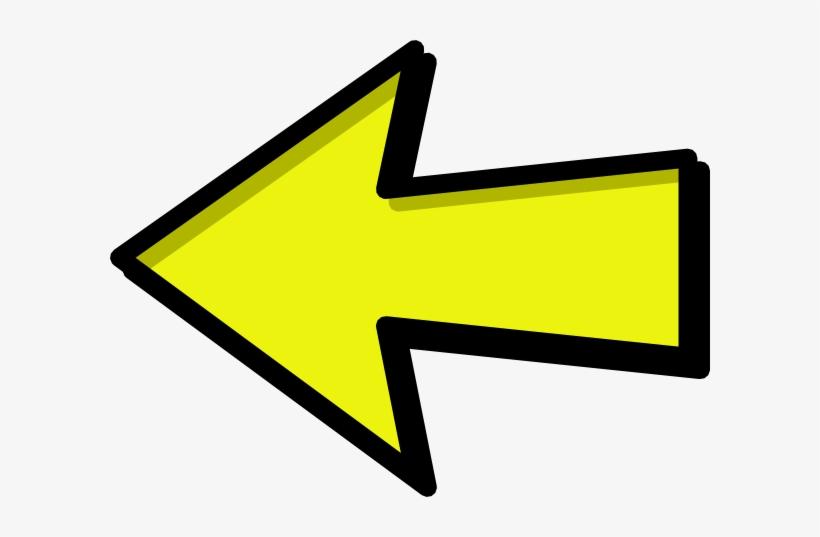 Red Left Arrow Clip Art - Clip Art Arrow Pointing Left - 600x457 ...
