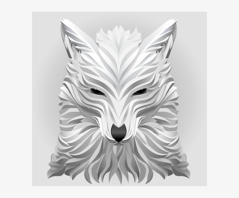 Curve Lowpoly Wolf Training On 3d Animal Illustrations Desenhos