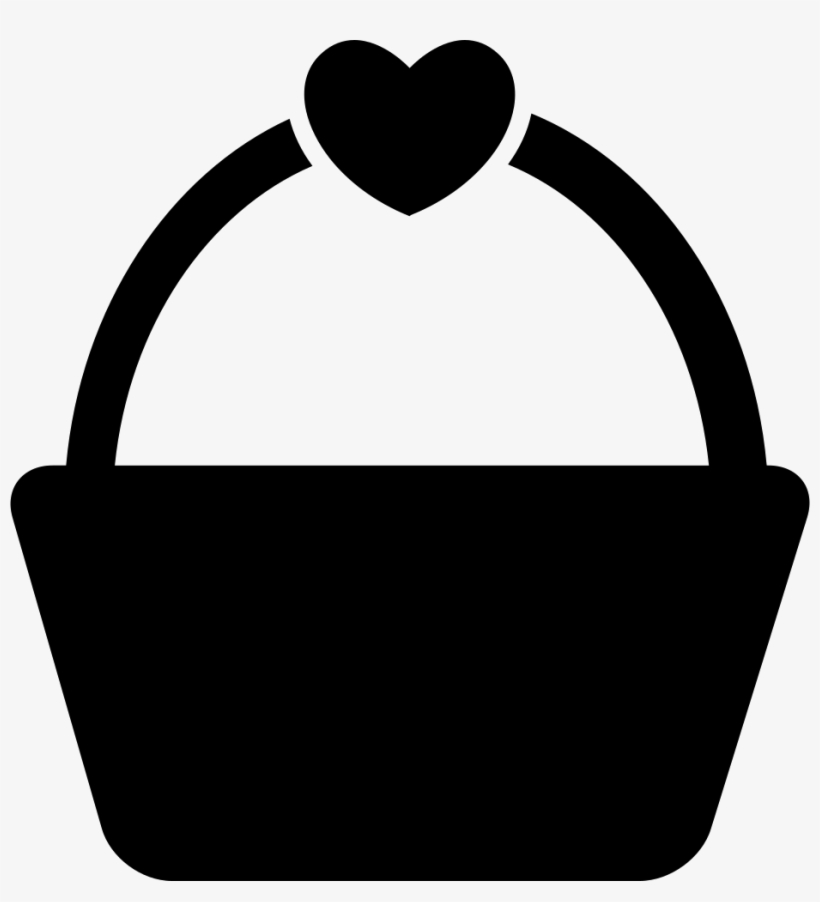 Shopping Or Picnic Basket With A Heart Shape Comments
