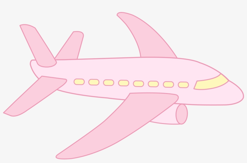Cute Airplane Pink Airplane Clipart 8669x5328 Png Download