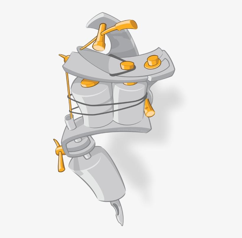 Tattoo-Maschine-Royalty-free clipart - Tattoo Gun Cliparts png  herunterladen - 696*643 - Kostenlos transparent Musikinstrument Zubehör png  Herunterladen.