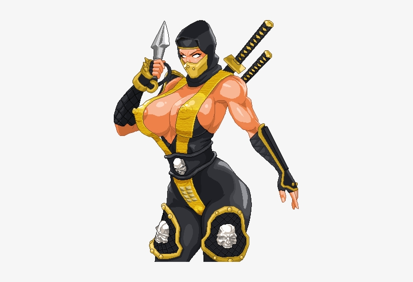 Scorpion Fan Art By Warner Emir Cortez Scorpion Mortal Kombat