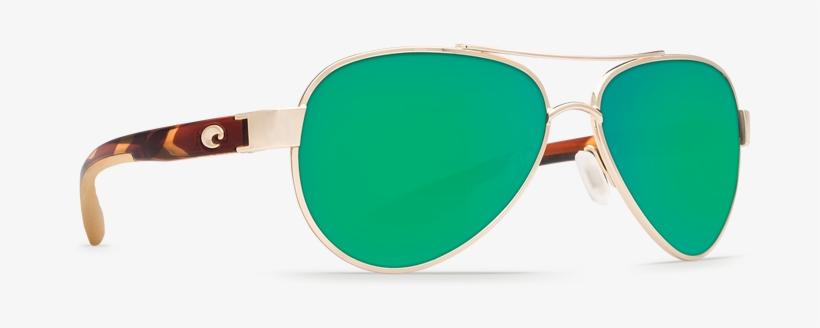 84a300f0ce Costa Loreto Womens Sunglasses - Costa Del Mar Loreto Rose Gold Square  Sunglasses Blue
