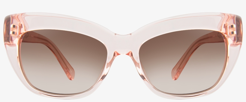 a2dd62fd7c23 Kate Spade Crimson/s 0fp6 Sunglasses - Clear Cat Eye Sunglasses ...