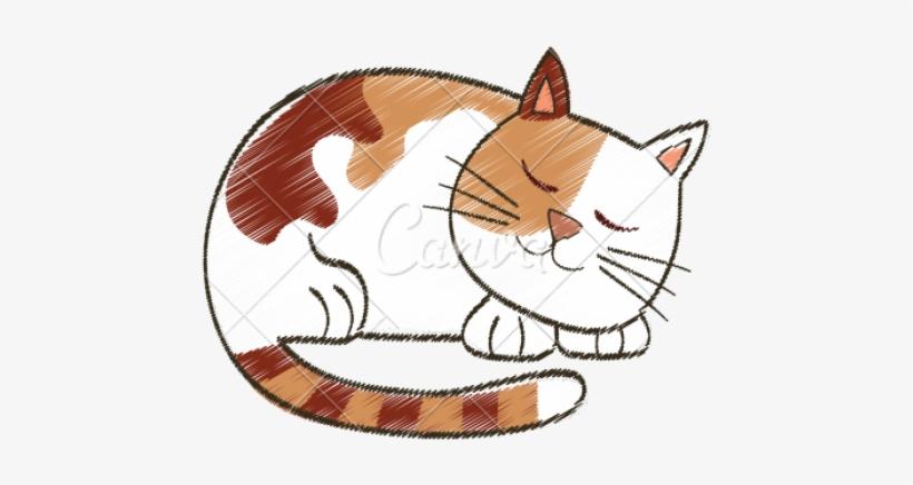 Cats Cartoon Png Cat Sleeping Cartoon 550x550 Png Download Pngkit