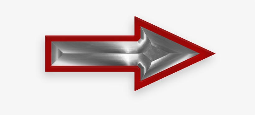 Larger Version Of Red And Steel Arrow - Animated Blinking ...
