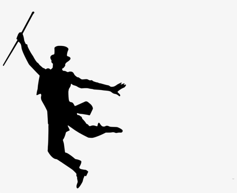 Silhouette Dance Silhouette Dancer Ballet Dancer Fred Astaire And Ginger Rogers Jumping 940x720 Png Download Pngkit