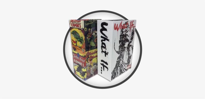 Comic Books - Comics Book Box Binding - 350x350 PNG Download