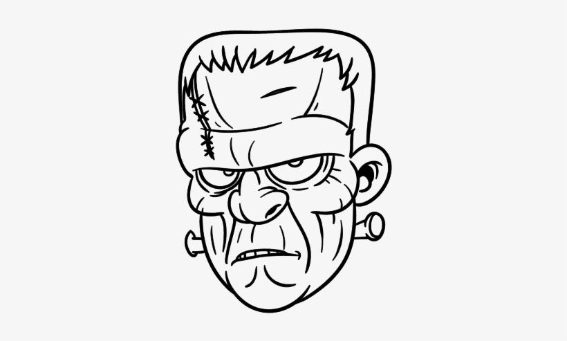 Dibujo De Cara De Frankenstein Para Colorear Frankenstein