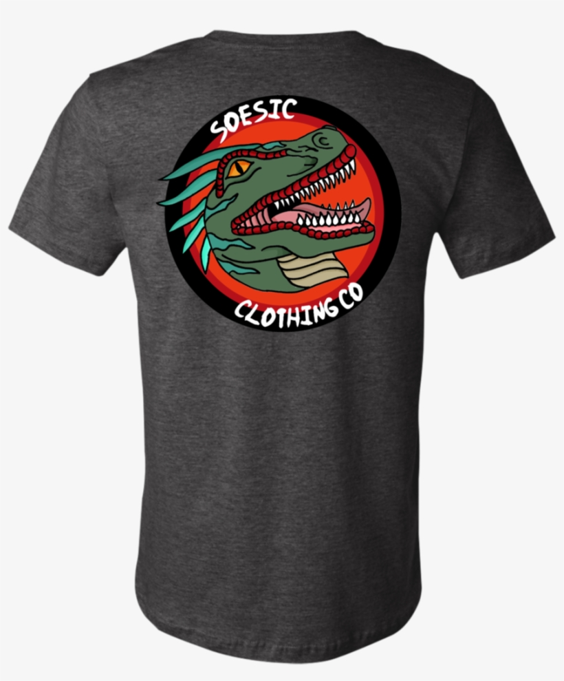 de4814940 90s Raptor Tee Front back Logo - T-shirt - 1024x1024 PNG Download ...