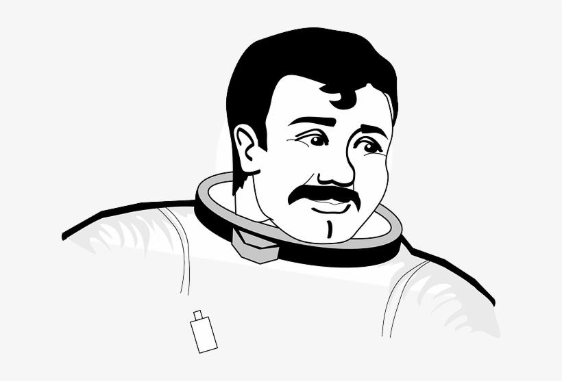 Astronaut Nasa Man Space Space Suit Face Astronauta E Lua