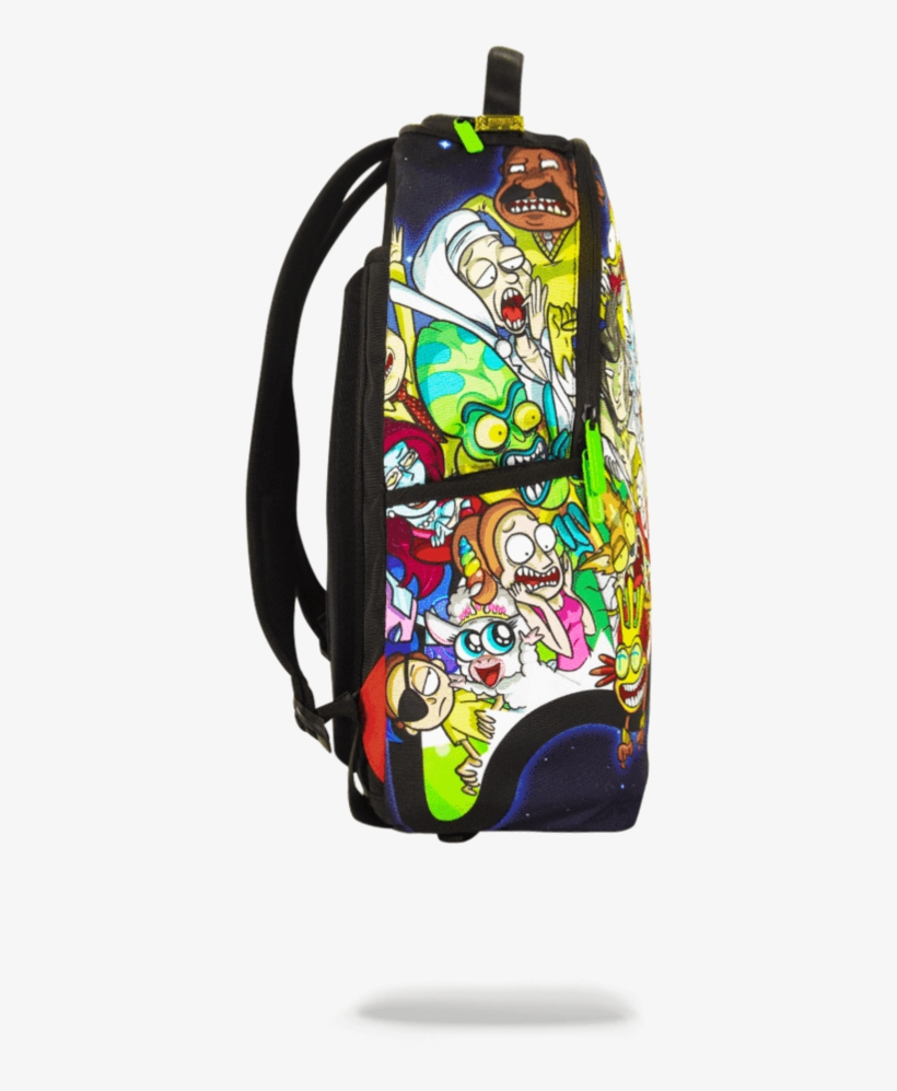 bd428e4d2653 Rick And Morty Portal Party Shark - Rick And Morty Sprayground Backpack