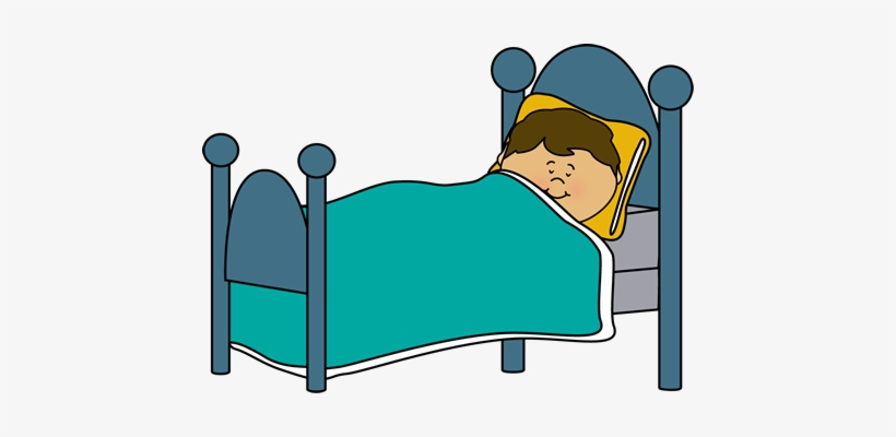 Bed Clipart For Kid Boy Sleeping In Bed Clipart 450x320 Png