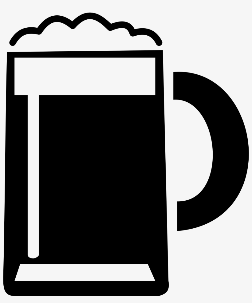 Beer Vector Black And White 1823x1849 Png Download Pngkit