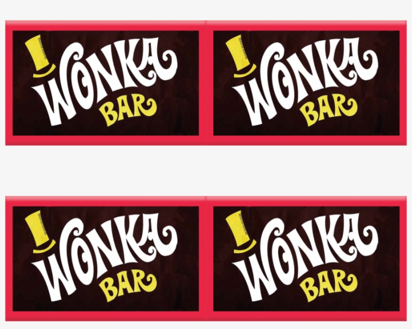 Download Willy Wonka Chocolate Bar Clipart Wonka Bar Willy