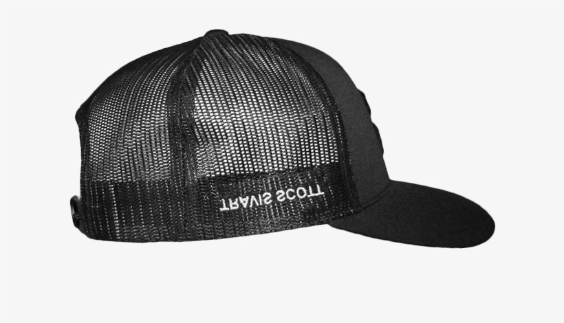 0bd418cde9a9d The Full Collection Is Available On Travis Scott s - Travis Scott Trucker  Hat