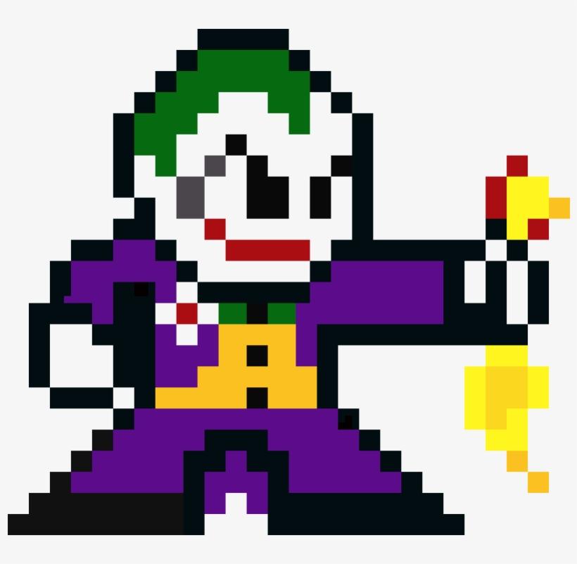 Joker Pixel Art Dibujos De Pixeles De Batman 1050x880