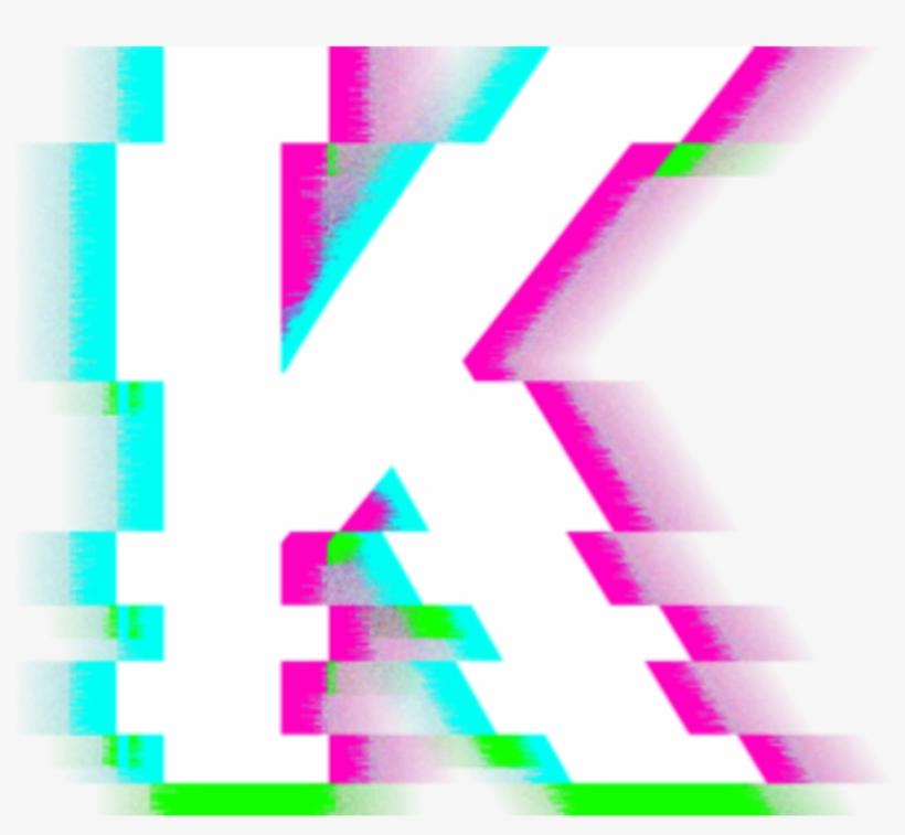 K Glitch Freetoedit - K Glitch - 1024x1024 PNG Download - PNGkit
