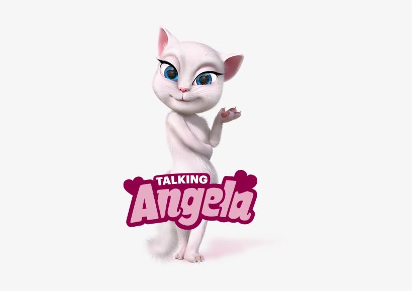 ec75cfc7f Angela3 - Talking Angela Talking Tom And Friends - 417x580 PNG ...