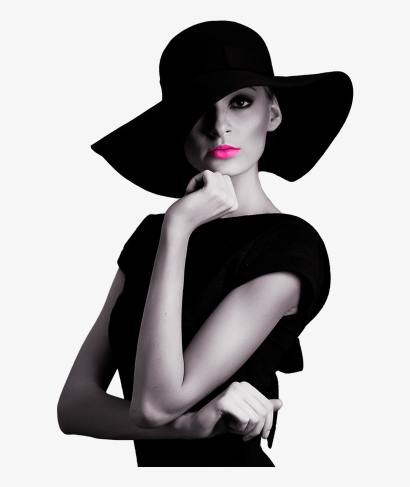 High Fashion Elegant Woman - We All Have Our Limits Quotes