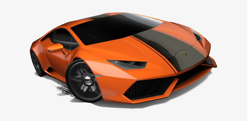 Lamborghini Huracan Orange Black Stripe Lamborghini Huracan Orange And Black 671x503 Png Download Pngkit
