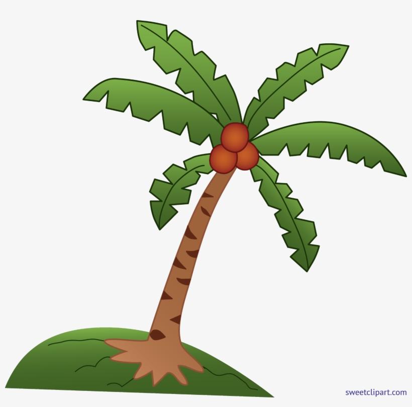Coconut Tree Clip Art Coconut Tree Clipart 5721x5369 Png