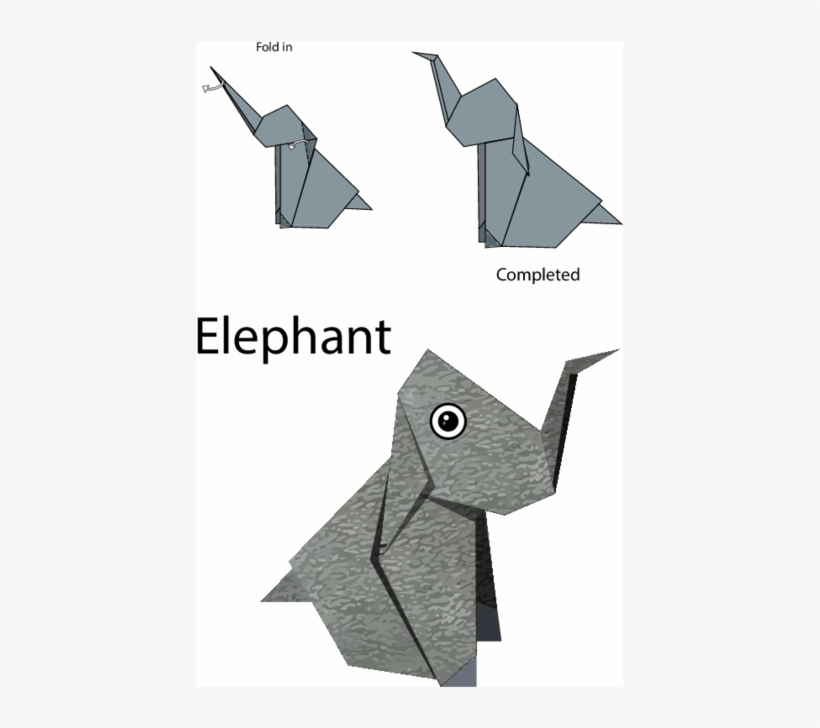 Origami Safari: 26 Beautiful African Animals Made Out of Paper | 728x820