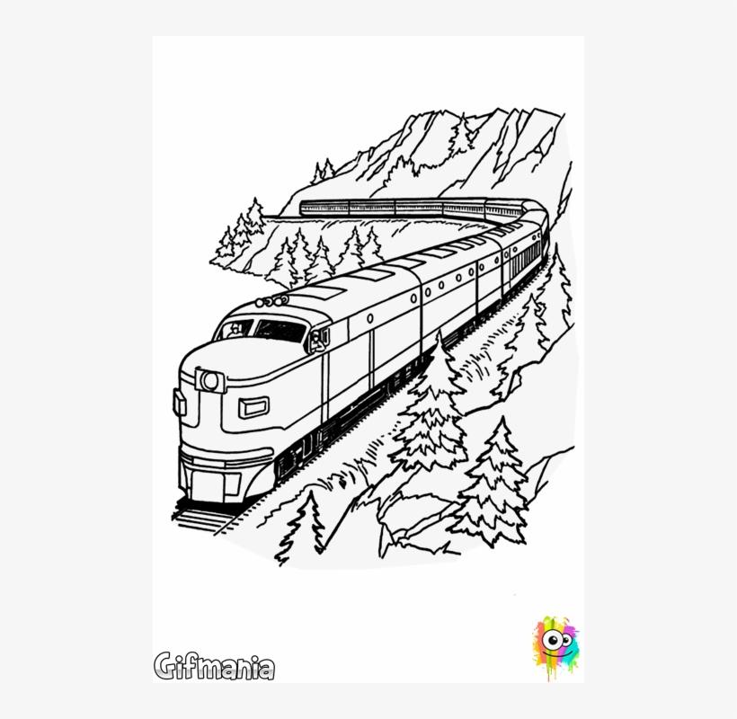 Tren De Mercancias Train Coloring Pages Printable Lego Train Colouring Pages 480x720 Png Download Pngkit