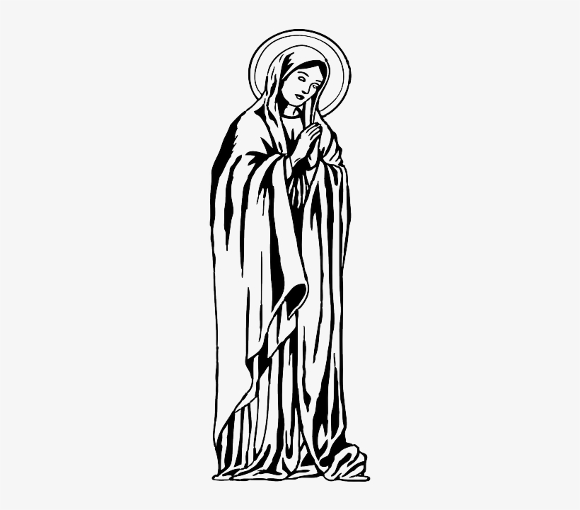 Free Religious Black And White Clip Art with No Background - ClipartKey
