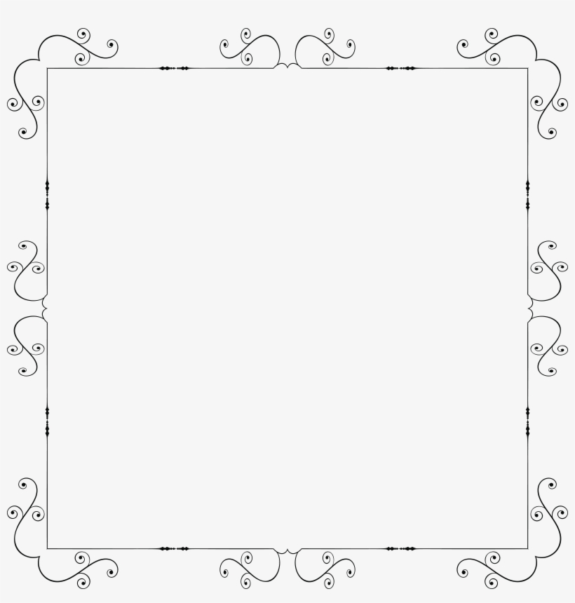 Fancy Ornate Square Frame Icons