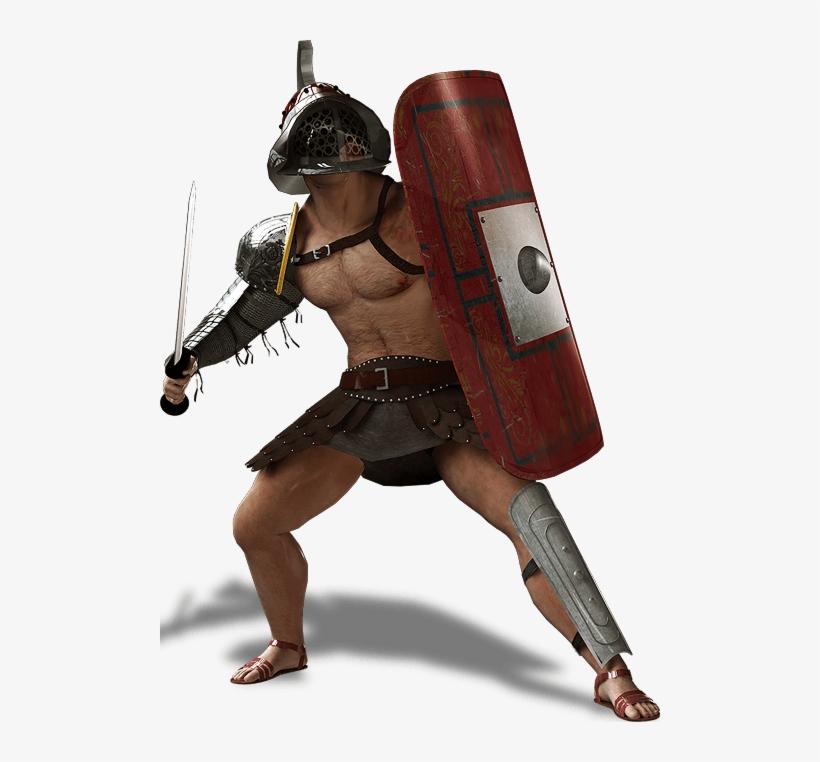 Download Guerreros Del Coliseo Romano 500x682 Png Download Pngkit