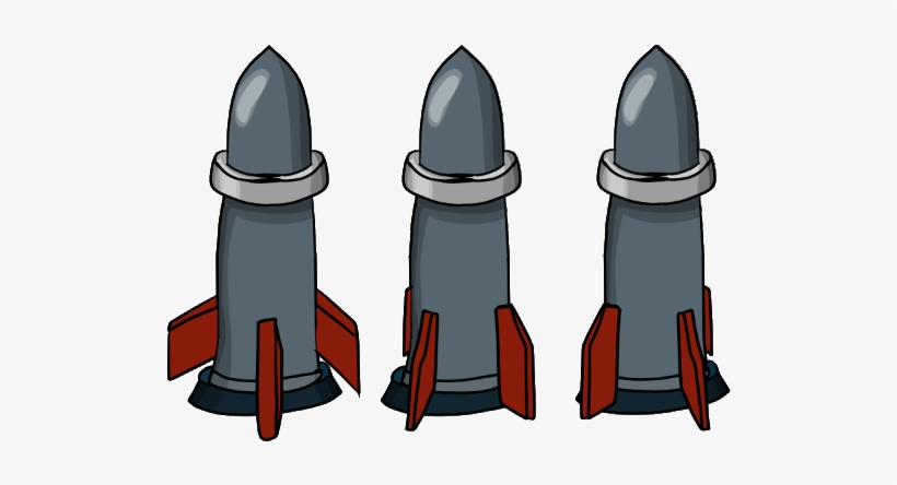 Missile Sprite Png Clipart Royalty Free Stock - Missile
