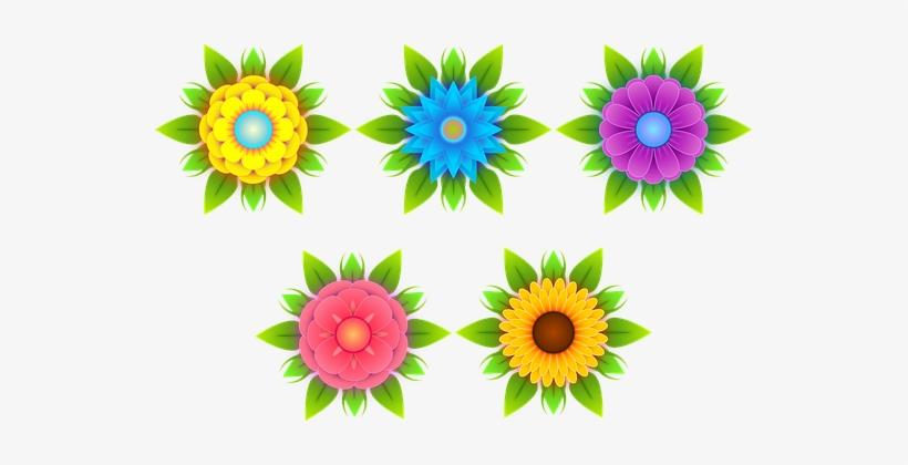 Fiori Stilizzati.Flowers Stylized Flowers Nature Flora Fiori Stilizzati