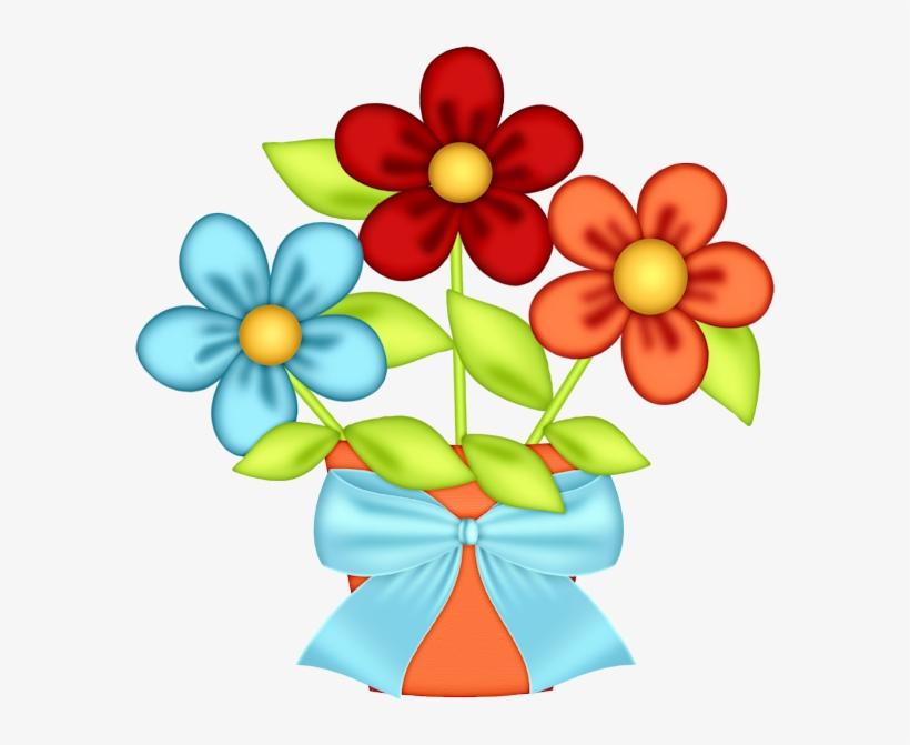 Flores Coloridas, Flores Pequeñas, Flores Animadas