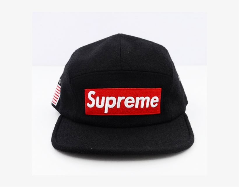 Transparent Snapback Supreme Banner Black And White - Supreme Mens Supreme  Long Shirt L (42-44) New b17eacd1444